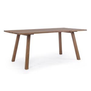 Masa din lemn maro Glasgow 180 cm x 90 cm x 75 h