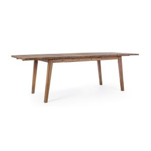 Masa extensibila lemn natur Varsavia 180/240 cm x 90 cm x 76 h