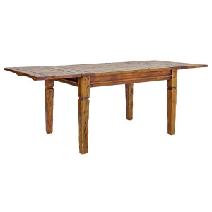 Masa extensibila lemn maro Chateaux 120/160/200 cm x 90 cm x 76 h