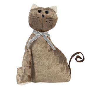 Opritor de usa textil maro Cat 20 cm x 11 cm x 29 h