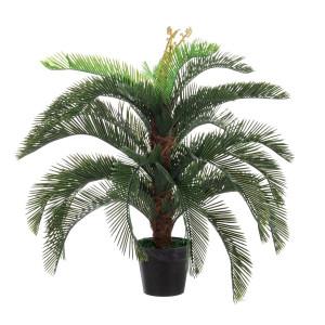 Palmier artificial Cycas 80 cm x 80 cm x 100 h