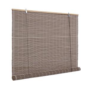 Jaluzea tip rulou din bambus maro Marsiglia 150 cm x 260 h