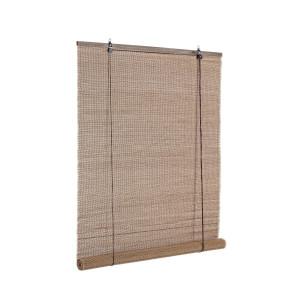 Jaluzea tip rulou din bambus maro Pia 90 cm x 180 h
