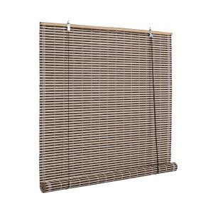 Jaluzea tip rulou din bambus maro Marsiglia 120 cm x 260 h