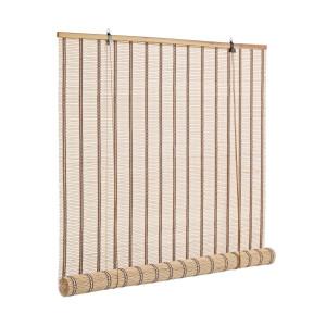 Jaluzea tip rulou din bambus natur Tolosa 120 cm x 260 h