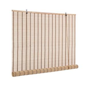 Jaluzea tip rulou din bambus natur Tolosa 150 cm x 260 h