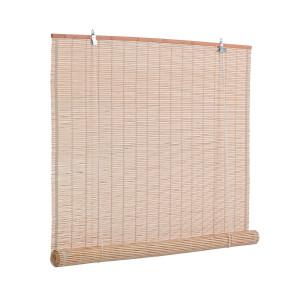 Jaluzea tip rulou din bambus natur Nizza 120 cm x 260 h