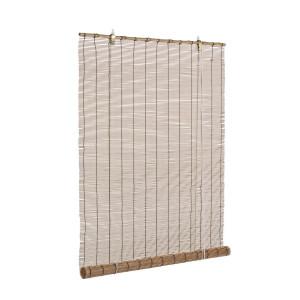 Jaluzea tip rulou din bambus maro Midollo 90 cm x 180 h