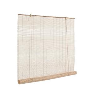 Jaluzea tip rulou din bambus natur Midollo 120 cm x 260 h