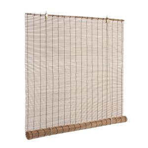 Jaluzea tip rulou din bambus maro Midollo 120 cm x 260 h