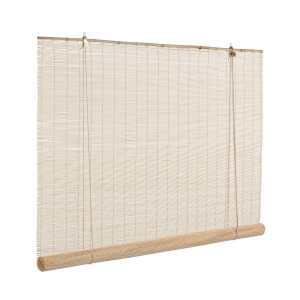 Jaluzea tip rulou din bambus natur Midollo 150 cm x 260 h
