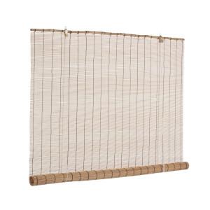 Jaluzea tip rulou din bambus maro Midollo 150 cm x 260 h
