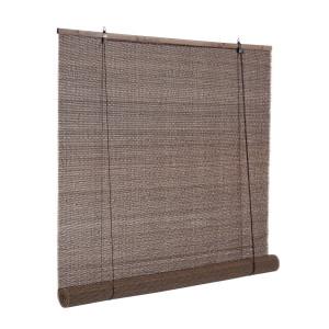 Jaluzea tip rulou din bambus maro Dora 120 cm x 260 h