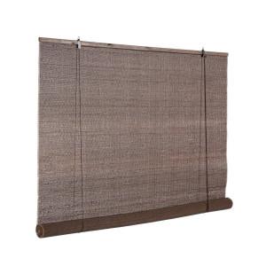 Jaluzea tip rulou din bambus maro Dora 150 cm x 260 h