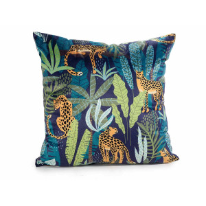 Perna decorativa din textil Jungle cm 45 cm x 45 h