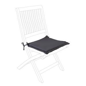 Perna scaun din textil gri Olefin 42 cm x 42 cm x 3 h