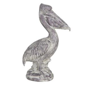 Figurina din polirasina maro Pelican 19 cm x 11 cm x 31 h