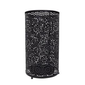 Suport umbrele din metal negru Rosone Ø 24 cm x 45 h