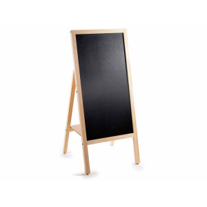 Tabla de scris cu suport din lemn natur 45 cm x 5 cm x 102.5 h