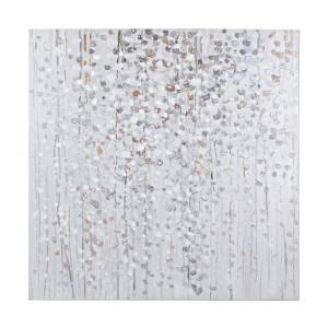 Tablou pe panza pictat in ulei Village 100 cm x 2.8 cm x 100 h