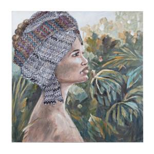 Tablou pe panza pictat in ulei Women 100 cm x 2.8 cm x 100 h