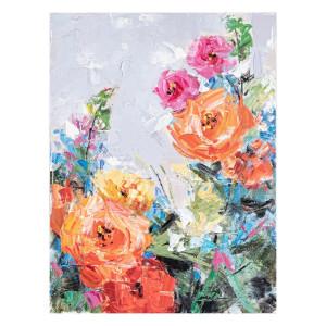 Tablou pe panza pictat in ulei Crown 60 cm x 3.5 cm x 80 h