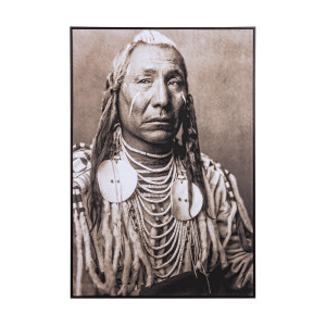 Tablou canvas Indian 82 cm x 4.3 cm x 122 h