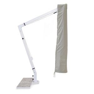 Husa gri pentru umbrela de gradina Rialto 300 cm x 400 cm