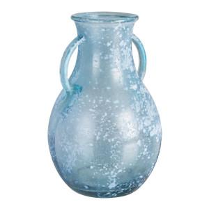 Vaza sticla albastra Amphora Ø 20 cm x 32 h
