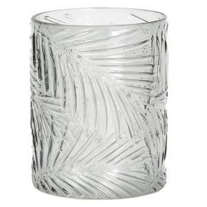 Vaza pentru flori din sticla verde Ø 10 x 12 h