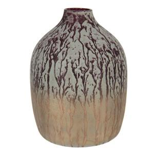 Vaza pentru flori din sticla multicolora Ø 12 x 16 h