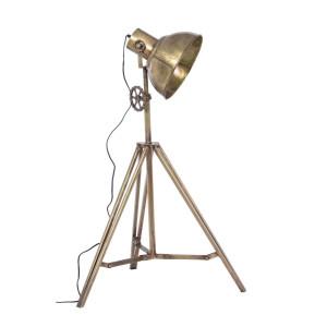 Lampadar din fier auriu antic Ileana 30 cm x 28 cm x 132 h