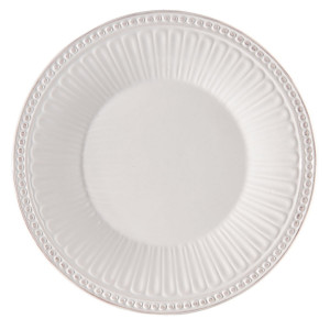 Farfurie din ceramica alba Ø 20 cm x 2 cm