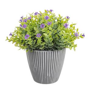 Flori artificiale mov in ghiveci Ø16x16h