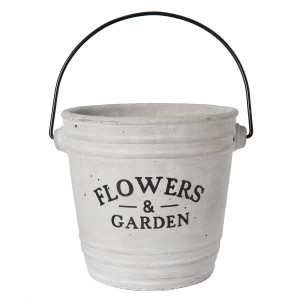 Ghiveci ceramic pentru flori Ø 14*14 cm