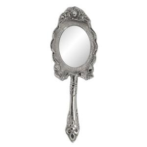 Oglinda de mana argintie 6x2x21 cm