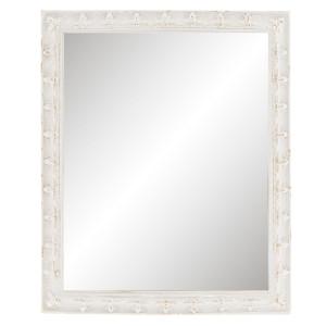 Oglinda decorativa perete polirasina gri vintage 23x2x28 cm