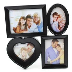 Rama foto de perete neagra 33 cm x 30 cm