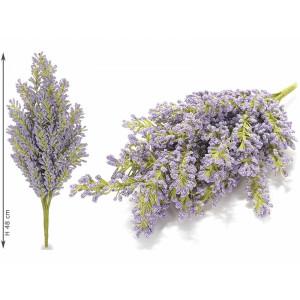 Buchet flori artificiale mov 48 cm