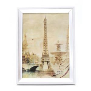 Rama foto de masa argintie Tour Eiffel 15 cm x 20 cm