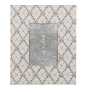 Rama foto de masa Shabby Chic Roses 18 cm x 22 cm
