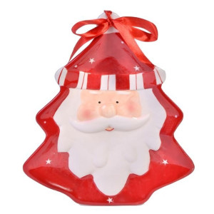 Platou ceramic decor Santa