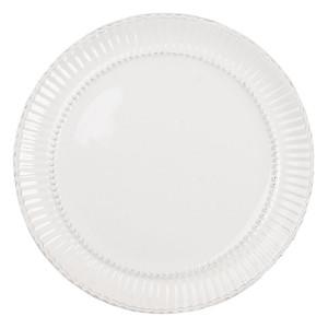 Farfurie din ceramica crem Ø 27 cm x 2 cm