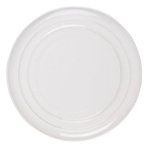Farfurie din ceramica crem Ø 28 cm x 3 cm