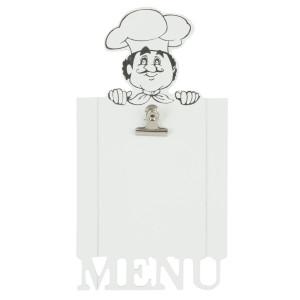 Tablita decorativa suspendabila pentru meniu Chef 18*3*33 cm