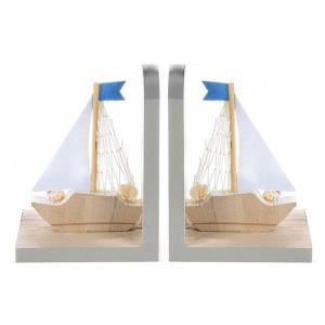 Set suporturi lemn carti Boat cm 11,5x8x15 H