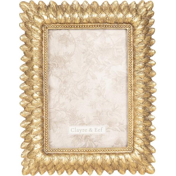Rama foto de masa polirasina argintie Marlene 16 cm x 20 cm