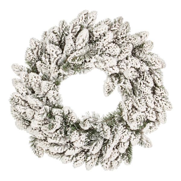 Coronita brad artificial cu zapada artificiala Oregon Ø 60 cm