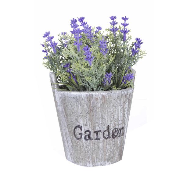 Flori artificiale mov in ghiveci Garden Ø 11 cm x 18 h