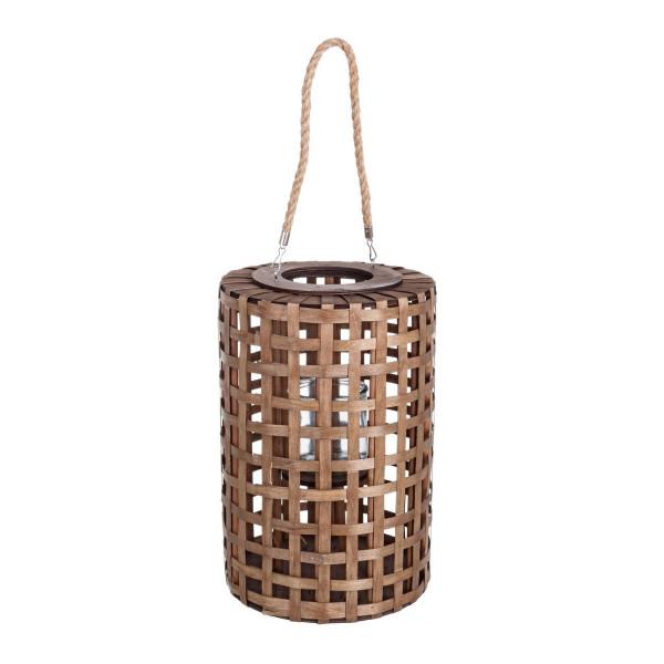 Felinar suspendabil bambus maro Thai..